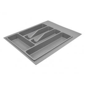 Пенал для посуды серый 390 мм Volpato Italy