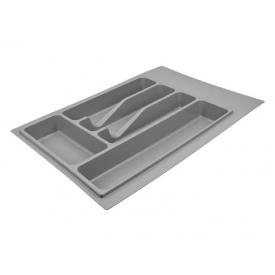 Пенал для посуды серый 340 мм Volpato Italy