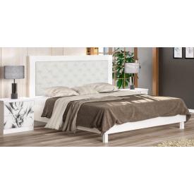 Кровать Мебель-Сервис Ева 204х172х120 см белая