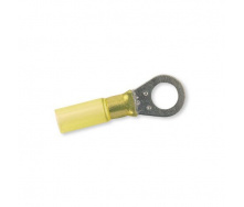 Клемма термоусадочная кольцевая желтая 4-6 мм\10,4 Berner