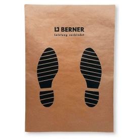 Коврики для автомобиля бумажные 61cm x43 cm Berner 225шт