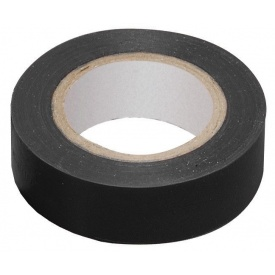 Изоляционная лента 10 м полимерная пленка ПВХ черная