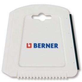 Скребок для льда и снега 120х122 mm Berner