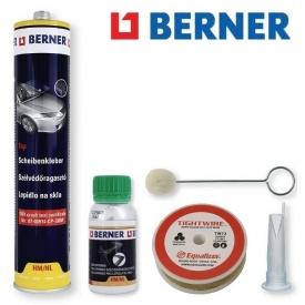 Комплект для заміни скла автомобіля Berner 52485