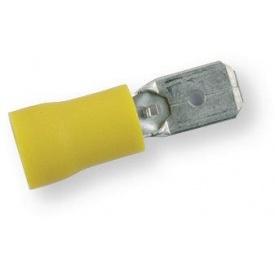 Клема обтискна ізольована ТАТО жовта 6,3х0,8 мм