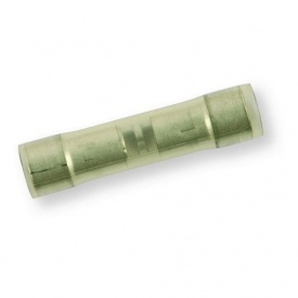 З'єднувач подвійний синій із серединним стопором Berner 2,5-6 mm2