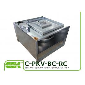 Канальный прямоугольный вентилятор C-PKV-BC-70-40-4-380-RC
