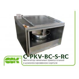Вентилятор C-PKV-BC-S-60-30-2-380-RC канальний в звукоізольованому корпусі