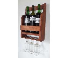 Полочка для вина Adirondak на 3 бутылки