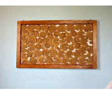 Панно из дерева с рамкой Adirondak 100х60 см
