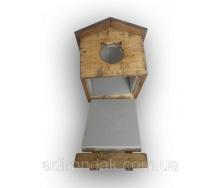 Утепленная будка для котика Adirondak 570х430х400 мм