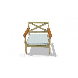 Проект Крісло садове R1