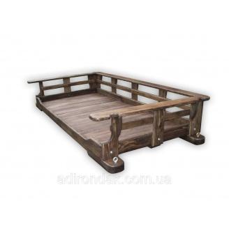 Подвесная кровать-качель Adirondak 2100х1100х380 мм