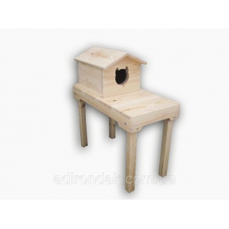 Домик на столе для котиков Adirondak 70х35х75 см