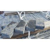 Бруківка гранітна Лабрадорит повнопилянна 20x10x5 см