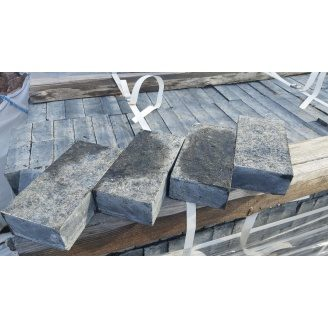 Брусчатка гранитная полнопиленная Лабрадорит 20x10x5 см