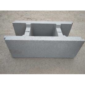 Блок опалубки 510х250х190 мм серая