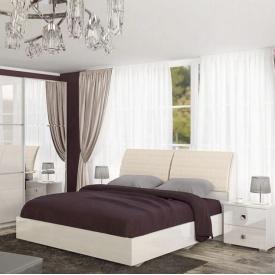 Кровать Мебель-Сервис Лондон 169х110х265 см кросслайн латте