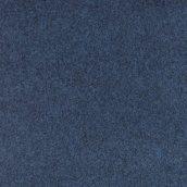 Синій зносостійкий ковролін на гумовій основі 3 м