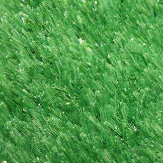 Зеленая декоративная искусственная травка ковролин для интерьера, декора, басейна, ландшафта 1.5