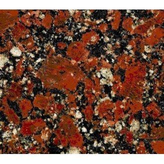 Капустинський граніт Rosso Santiaqo 2700 кг/м3 (GR1)