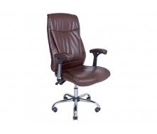 Компьютерное кресло Richman Альваро 1120-1200х500х520 мм коричневое