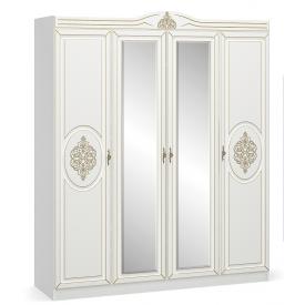 Шкаф Мебель-Сервис Милан 225х215х55 см белый