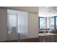 Скляна розсувна система міжкімнатних дверей 10 мм