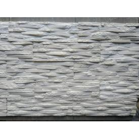 Гипсовый камень Венеция 00 350х90х20 Белый