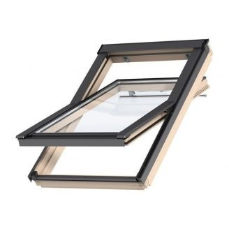 Мансардное окно VELUX  Оптима GZR 3050 CR04 деревянное 550х980 мм