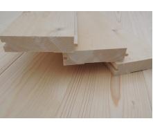Дошка для підлоги шпунтована 125х35х4