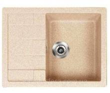 Кухонна гранітна мийка ADAMANT ANILA 650x500x200 мм Сахара