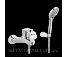 Змішувач для ванни Invena Merida EXE хром