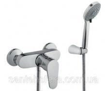 Змішувач для душу з душовим комплектом Invena MERIDA EXE
