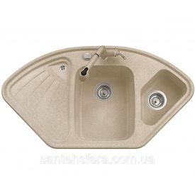 Гранитная кухонная мойка ADAMANT CONSENSUS 1060x575x190 мм Сахара