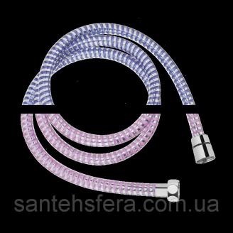 Душевой шланг Invena меняющий цвет 150 см