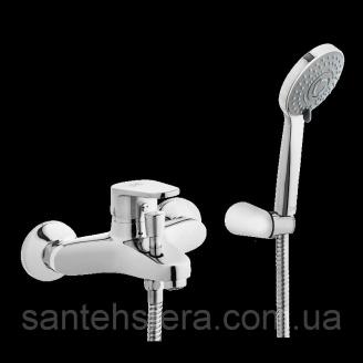 Смеситель для ванны Invena Merida EXE хром