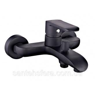 Змішувач для ванни Invena Siros чорний