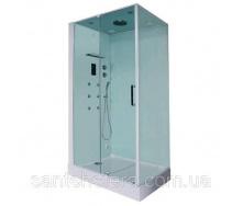 Гідромасажний паровий душовий бокс Orans SR-86120BS (L) 120х90х220 см