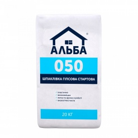 Шпаклевка Стартовая Альба Start 20 кг