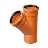 Трійник редукційний для зовнішньої каналізації 160x110x45 мм