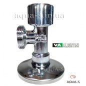 """Кран кутовий приладовий вентильний ALBERTONI 1/2'x3/4"""" для пральних і посудомийних машин"""