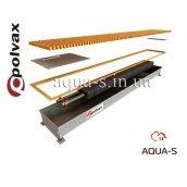 Внутрипідлоговий конвектор водяний POLVAX КЕ.230.1250.90