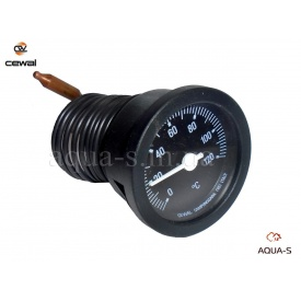 Термометр капілярний для опалення Cewal T37P D 37 мм 0-120°C
