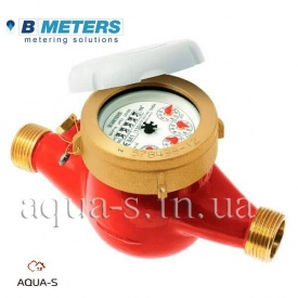 """Счетчик воды BMeters GMDM-I многоструйный мокроход DN 1/2"""" 2,5 м3/ч до 90°С"""