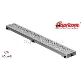 Решетка для душевого трапа Capricorn ORIENT 800x127 мм нержавеющая хромированная