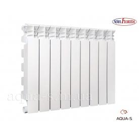Радиатор алюминиевый Nova Florida Libeccio C2 секционный 500х100 4 секции