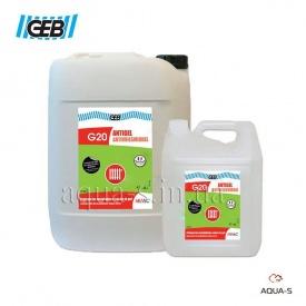 Антифриз GEB G20 для систем опалення 20 л 873012