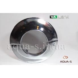 """Декоративна чашка розбірна ALBERTONI 1"""" 32 мм сталева хром"""