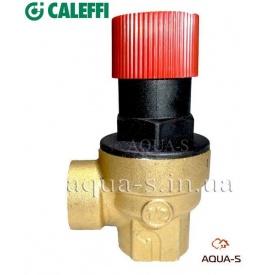 """Предохранительный клапан для отопления 1,5 бар 1/2"""" Caleffi"""